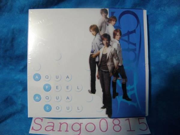 ★AQUA FEEL AQUA SOUL CD+初回生産限定盤DVD付 宝塚★_★AQUA FEEL AQUA SOUL:表側★