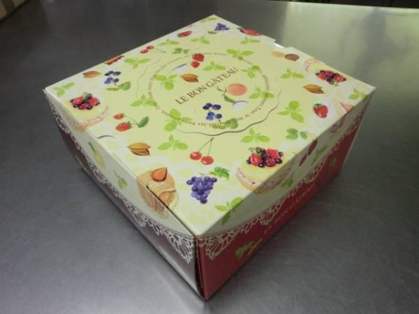 ★ デコレーション箱 5寸 アルミトレー付 100枚 ケーキ箱 ★ 6_画像1