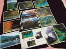 静岡 寸又峡 SLと温泉と渓谷美 南アルプス発行 絵葉書12枚未使用