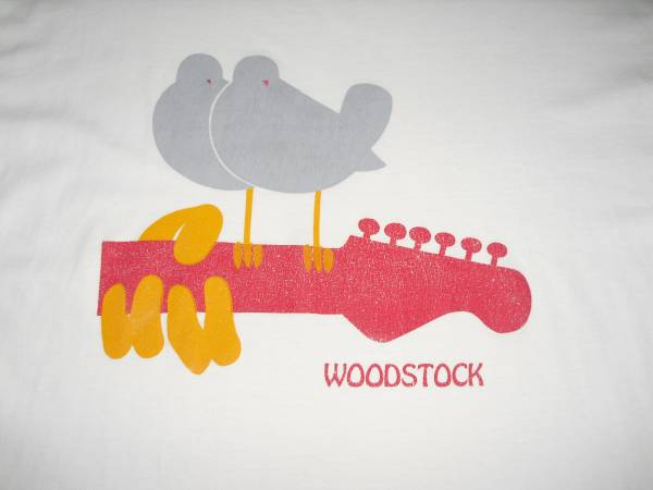 WOODSTOCK Tシャツ (アメリカ製)