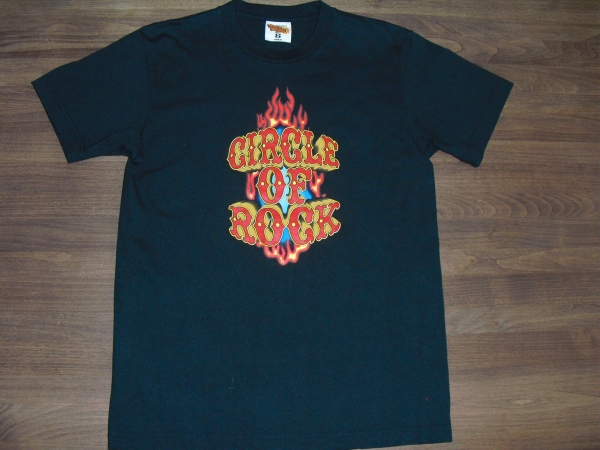 B'z LIVE GYM 2005 CIRCLE OF ROCK Tシャツ