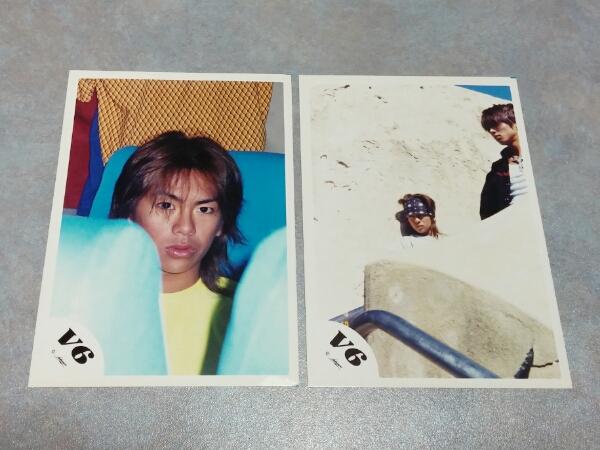 V6 森田剛 ジャニーズSHOP 公認写真 5枚セット ① 美品