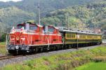 鉄道 デジ 写真 画像 サロンカーなにわ 2011お召列車 山陰本線