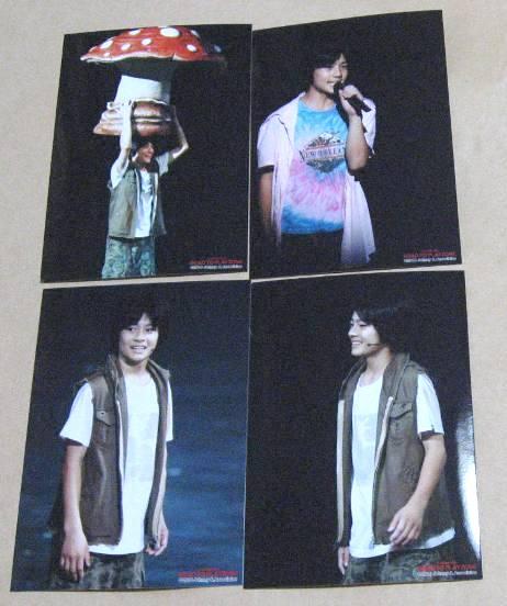 森本慎太郎 PLAYZONE2010写真4枚⑱ 新品未開封