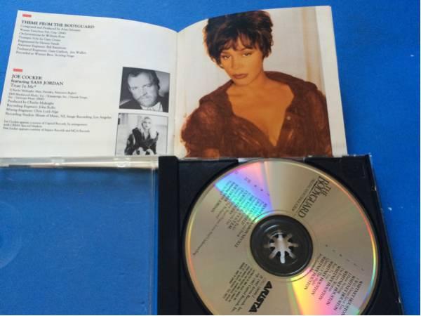 CD ボディガード オリジナル・サントラ 海外盤 日本語解説はなし_画像3