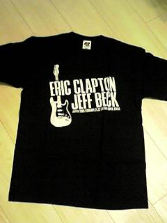 エリッククラプトン ジェフベック Tシャツ ビンテージ 武道館 ライブグッズの画像