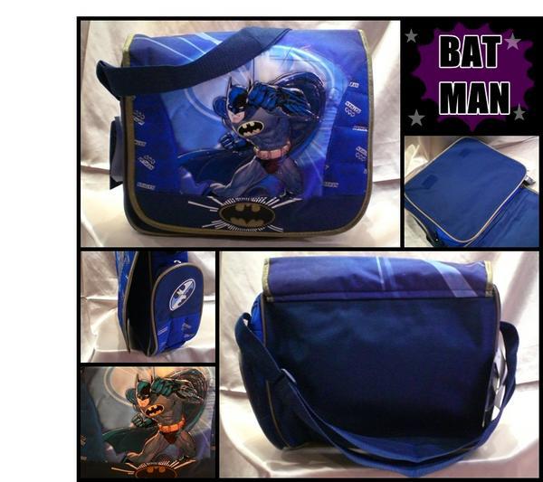 アメリカ直輸入 バットマン メッセンジャーバッグ マーベル 輸入雑貨 鞄 アメコミヒーロー MARVEL アベンジャーズ BATMAN 男の子_画像1