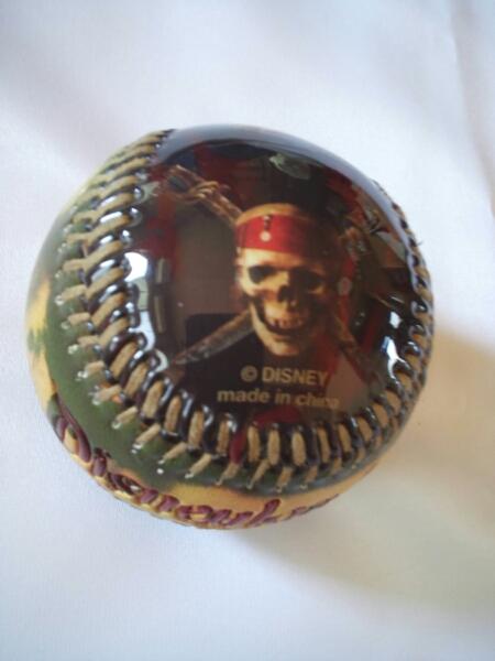 パイレーツ オブ カリビアン 野球ボール アメリカ グッズの画像