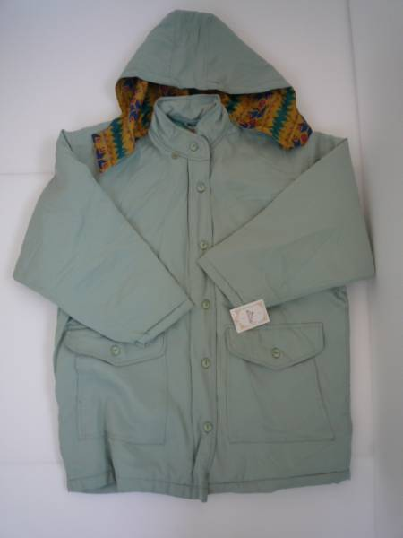 【未使用!!】◆NEW CASUAL◆ フード付きジャケット 緑系 フリー
