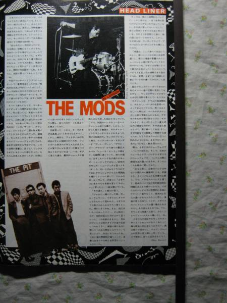 '82【in London】 the mods 森山達也 ♯