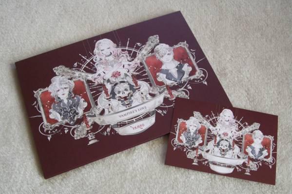 ポストカード付 † シングルCD VAMPS 『 VAMPIRE'S LOVE 【初回限定盤B】 』