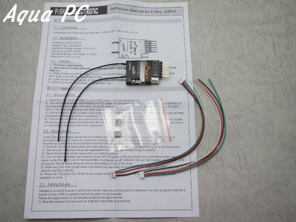 AquaPC★FrSky D4R-II 4ch 2.4Ghz ACCST Receiver ★