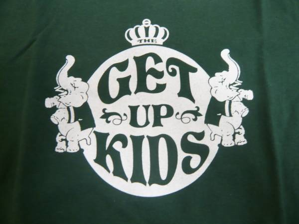 THE GET UP KIDS●来日ツアー Tシャツ●