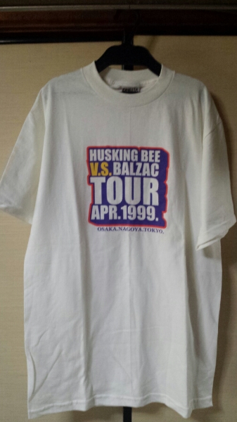 HUSKING BEE BALZAC TOURTシャツ ハスキングビー バルザック