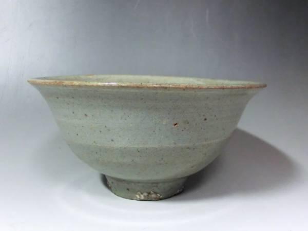 茶碗■高麗青磁 砂高台 時代物 李朝 古玩 時代物 古美術 骨董品■_画像1