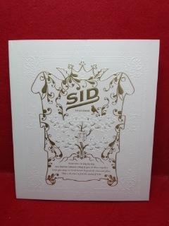 ▼SID シド TOUR 2009 サクラサク マオ 明希 ゆうやパンフレット