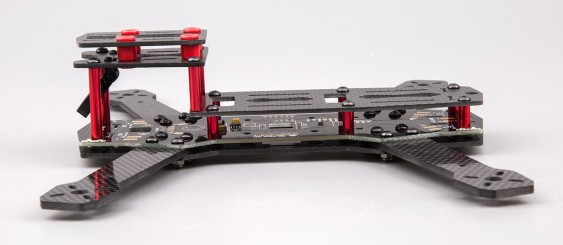 AquaPC★BeeRotor 250 Carbon Fiber FPV Racing w/PDB LED★