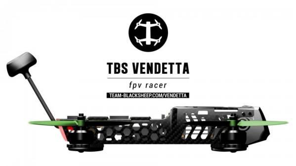 AquaPC★入手困難TBS Vendetta - FPV RACER 完成機★