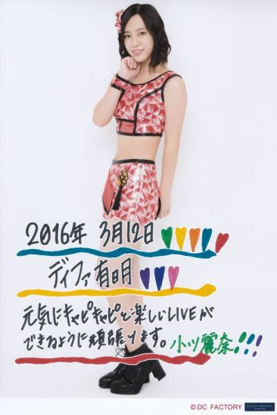 小川麗奈 2/12 ピンクス&コピンクス!ラストライブ2016 A5