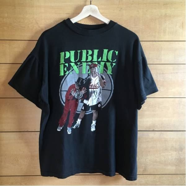 90's VINTAGE PUBLIC ENEMY RAP TEESヴィンテージTシャツnirvana