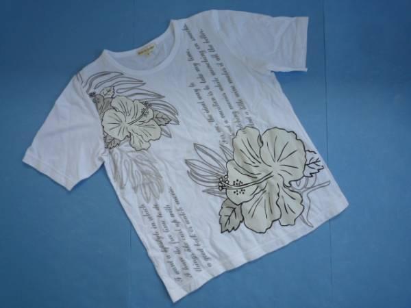 【良品!】 ◆ Ami de Colline ◆ 半袖Tシャツ 白 イラスト M