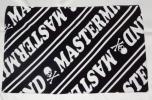 マスターマインド ビーチタオル 今治タオル ブラック ホワイト スカル 黒白 新品 mastermind JOYCE 日本未発売 日本製
