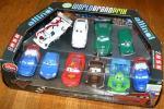 ディズニーストア限定 カーズ2 ダイキャストカー ミニクーパー フェアレディ240Z シトロエンDS VWワーゲン レーサー&クルーチーフ 10台SET