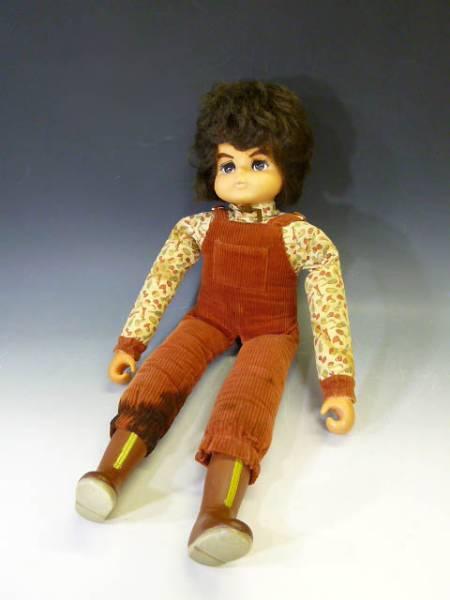 ◆昭和レトロ郷ひろみ人形ドール抱き人形りぼん社製ケンタ人形?