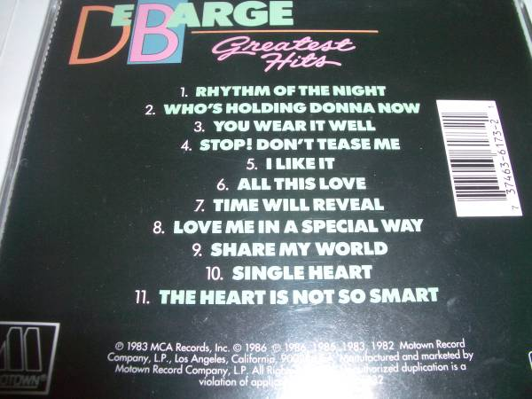 ●GREATEST HITS / De BARGE●