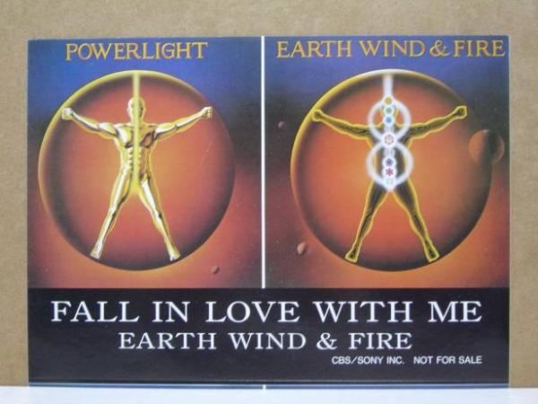 [即決] EARTH WIND & FIRE●非売品ステッカー●モーリスホワイト●アース・ウィンド・アンド・ファイアー