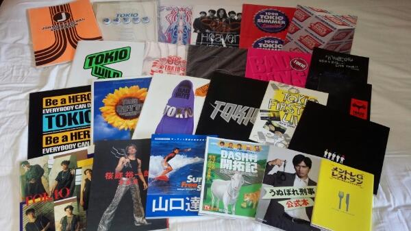 ★ TOKIO パンフレット+写真集等 計24冊セット ★