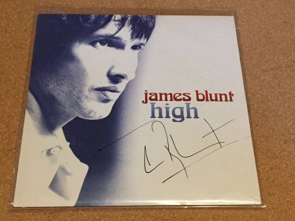 ☆☆ James Blunt サイン入りシングルレコード☆☆