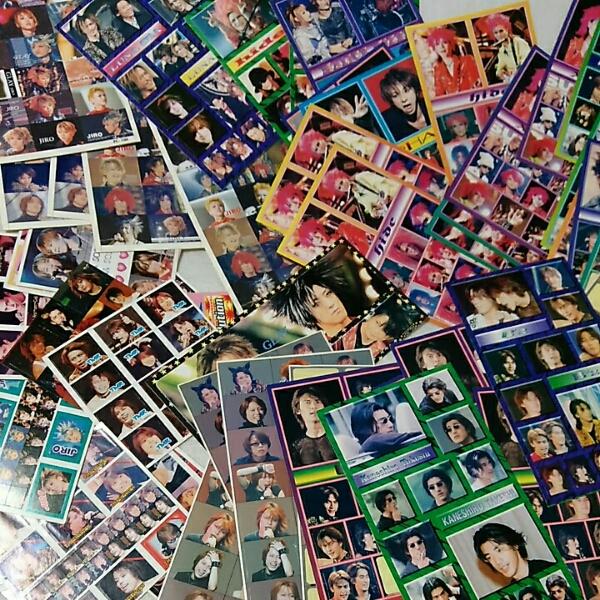大量 シール T.M.REVOLUTION B'z hide SOPHIA L'Arc~en~Ciel  ライブグッズの画像