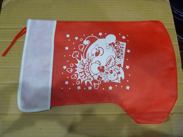 ●クリスマス ギフト用 靴下 チャック付き 新品未使用_画像1