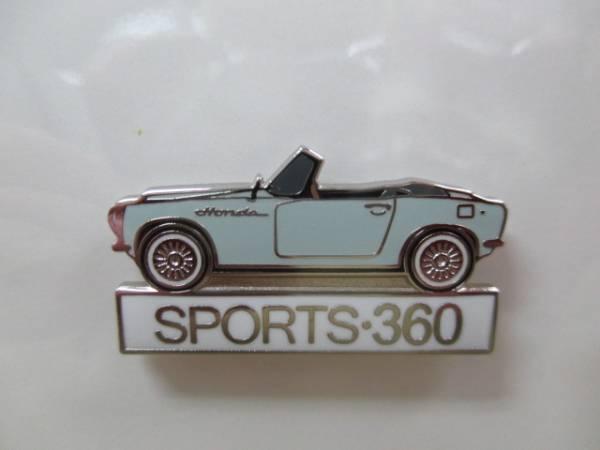 ホンダピンズコレクション スポーツ360 ピンズ サイド_画像2