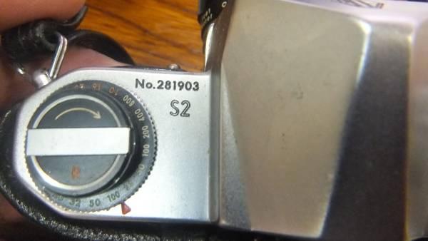 ペンタックス S2。レンズ、ケース付。中古品。_画像2