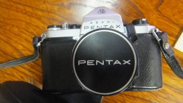 ペンタックス S2。レンズ、ケース付。中古品。_画像1
