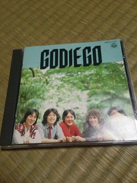 CD GODIEGO ゴダイゴ 帯なし 歌詞カード痛みあり_画像1