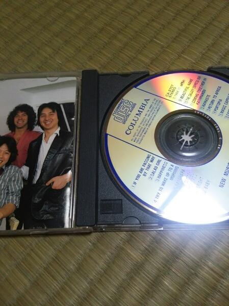 CD GODIEGO ゴダイゴ 帯なし 歌詞カード痛みあり_画像2
