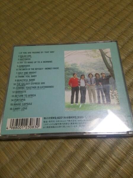 CD GODIEGO ゴダイゴ 帯なし 歌詞カード痛みあり_画像3
