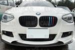 艶消黒!BMW F20 Mスポーツ フロントリップスポイラー 3D型