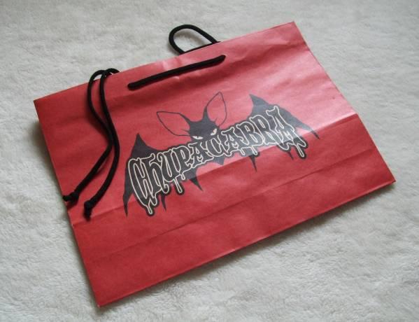VAMPS † VAMPARK HYDEデザイン紙バッグ 非売品 CHUPACABRA