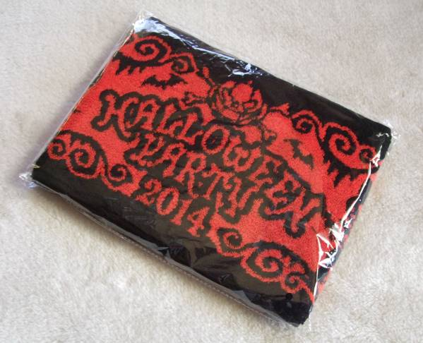 VAMPS主催 † HALLOWEEN PARTY 2014 『 マフラータオル 』 未開封品