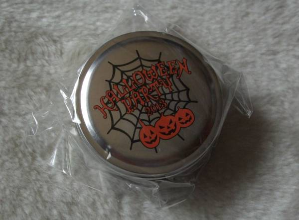 VAMPS主催 † HALLOWEEN PARTY 2013 ガチャガチャ景品 『 缶ケース (カボチャ) 』 未開封品