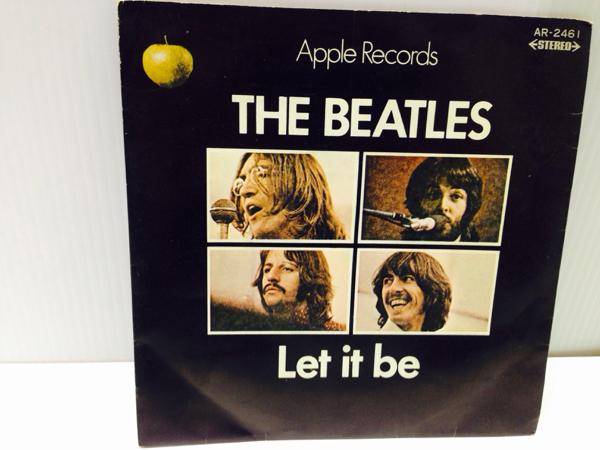 EP シングル盤 ビートルズ Let it be/BEATLES 試聴済