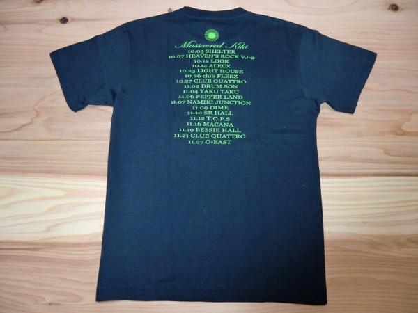 ART-SCHOOL アートスクール MASSACRED KIKI Tシャツ sizeS OGRE YOU ASSHOLE バンドT ロックT ツアーT ライブT ロキノン 音楽_画像2