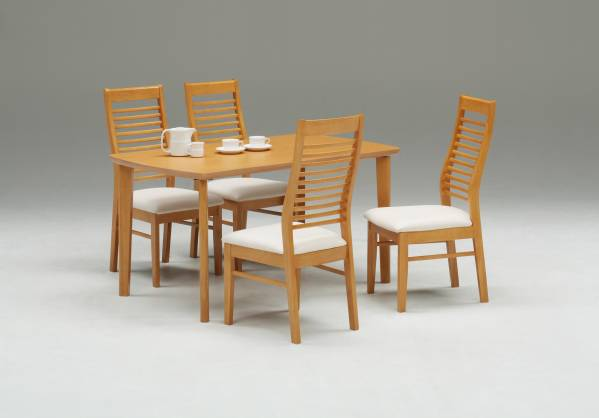 送料無料 シンプルデザイン テーブルとハイバック仕様のスマートなチェア④のセット(選べる2色)