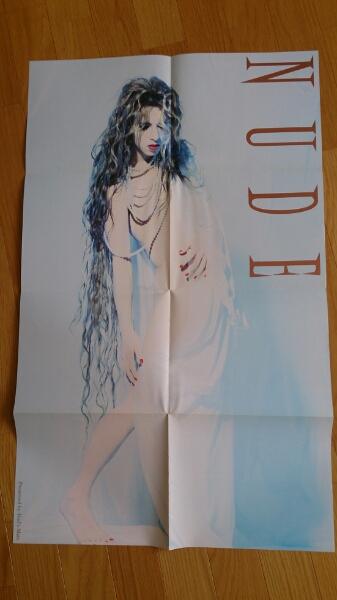 X YOSHIKI 折り畳み式ポスター非売品 美品 ヌード ライブグッズの画像