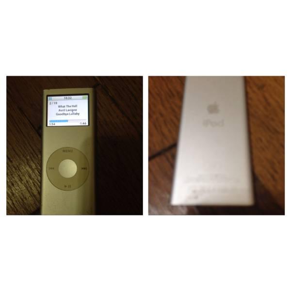 目覚まし 時計 アラーム ラジオ iPod用 スピーカー /中古&ipod_画像3