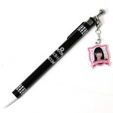 公式!!AKB48☆柏木由紀 推しチャームボールペン 黒 ライブ・総選挙グッズの画像